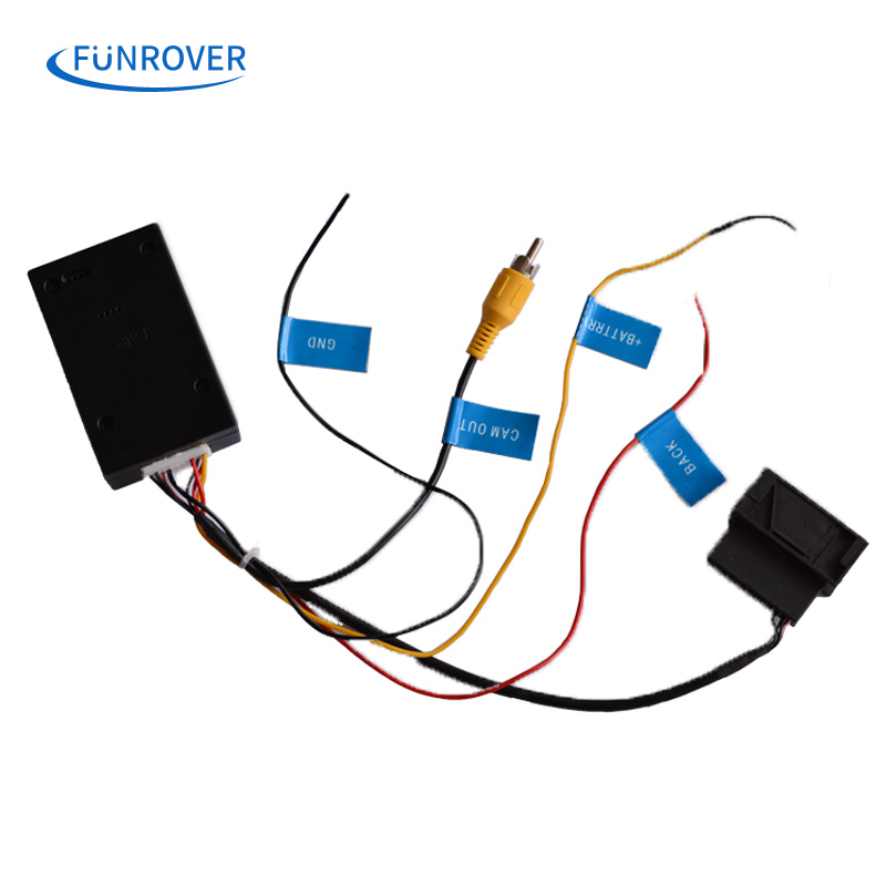 funrover hot rgb to av cvbs signal converter adapter box
