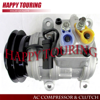 10PA17K A/C COMPRESSOR For Dodge Grand Caravan Plymouth Grand Voyager 3.0L 93 95 15 20783 15 21371 447100 2443 447300 0421