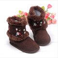 Hot sale baby shoes girls shoes fashion embroidered winter baby boots girls warm cotton toddler girl shoes infant shoes