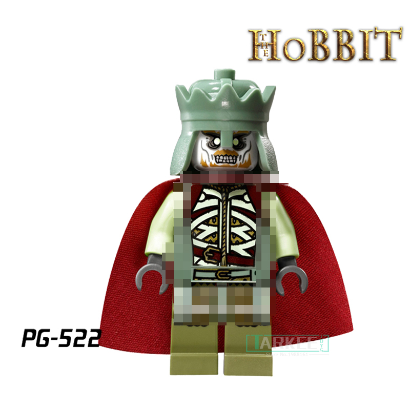 Building Block King of the Dead Aragorn Wraith The Lord of the Rings Hobbit Super Hero diy figures Bricks Kids DIY Toys Hobbies