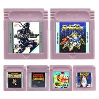 16 Bit Video Game Cartridge Console Card STG Shooter Game Series English Language Edition nintendo gba video game cartridge console card collection english language eg005 24 in 1