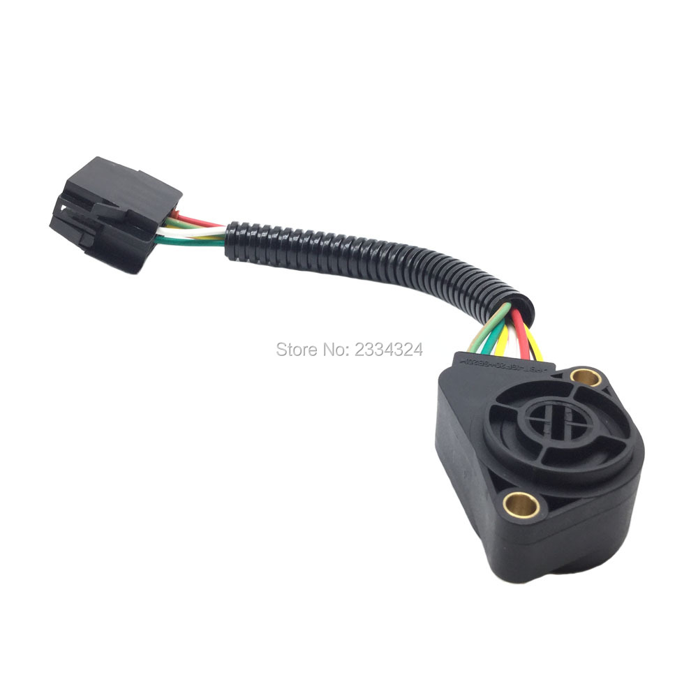 tps throttle position sensor for volvo truck with 6 pin 6. Black Bedroom Furniture Sets. Home Design Ideas