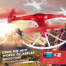 2017  aeria rc drone Quadcopter 2.4G 4CH 6-axis Gyro Drone One Key Return LED Night Flight Resistance to fall vs X5SW X5C