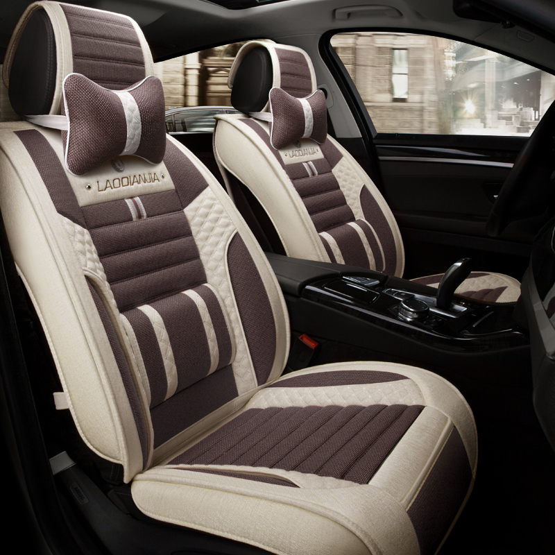 3d car seat cover general cushion fiber hemp car styling for mazda 3 6 2 mx 5 cx 5 cx 7 in. Black Bedroom Furniture Sets. Home Design Ideas