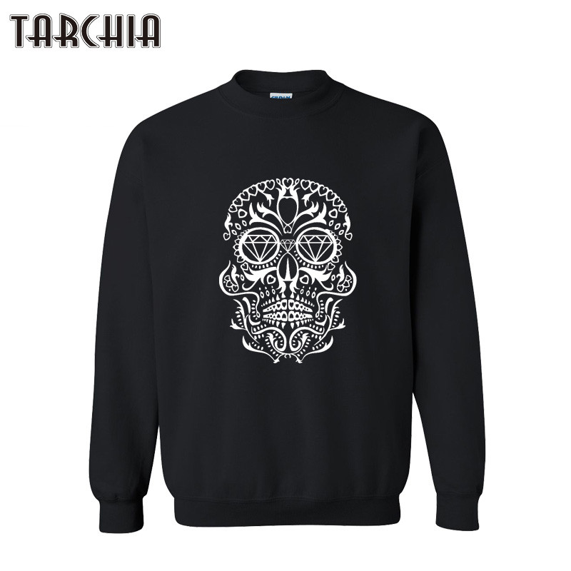 TARCHIA Autumn Winter Mens Sweatshirt Print Casual Stylish Sweat Shirts Hip Hop Pullovers Hoodies Sportswear Tops