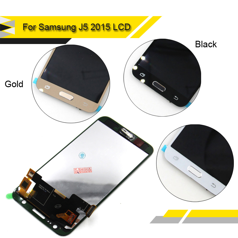 imágenes para 100% probado Compatible Para Samsung Galaxy J5 J500FN J500 2015 LCD Pantalla Táctil Digitalizador Asamblea LCD Alibaba China