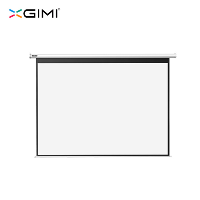 Original XGIMI Projector Screen for H1 Z4 100 inch 16:10 Electric White Plastic Portable Folded Front Projection Screen Fabric original xgimi 3d glasses dlp link active shutter 3d glasses g102l for xgimi h1 z4 aurora z4 air projectors