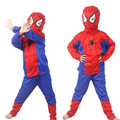 2016 Halloween christmas party  kids spiderman cosplay costumes boys super hero  carnival festival party costumes