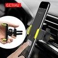 GETIHU автомобильный держатель телефона для iPhone X XS Max 8 7 6 samsung 360 градусов поддержка мобильного Air Vent крепление автомобиля Подставка для телефона в автомобиле - фото