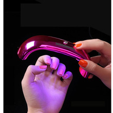 1pcs 9W Mini USB LED UV Lamp Nail Dryer For Curing Gel Polish Led Rainbow Art Manicure Tools