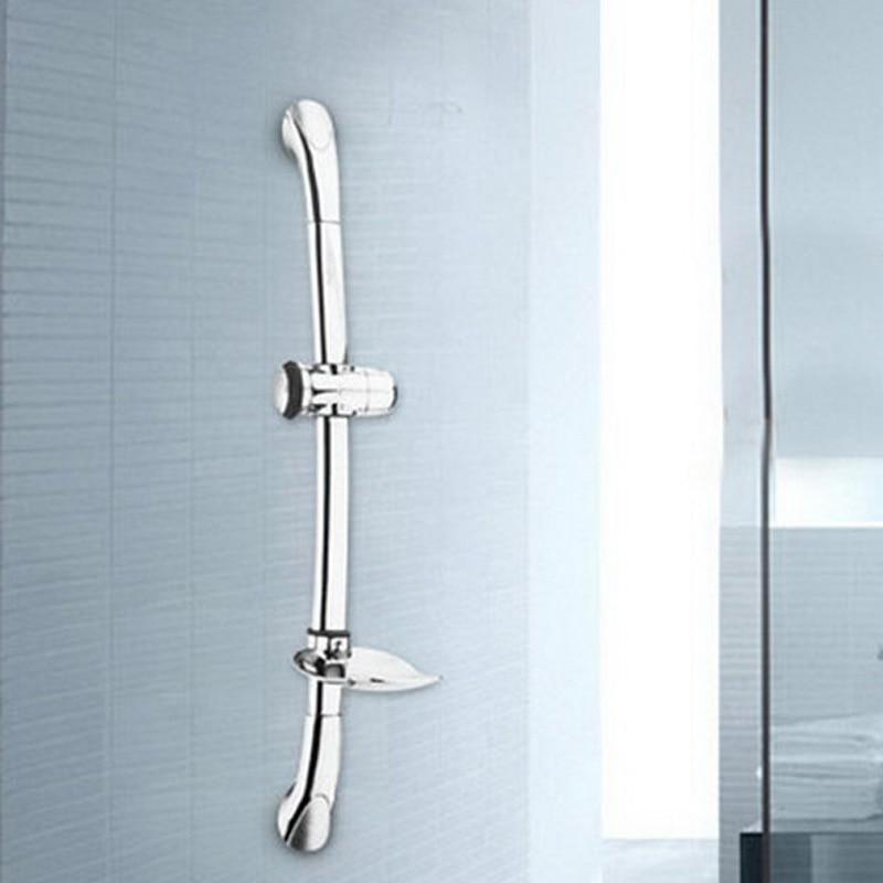 Lift Shower Shower Lifting Bar Silver Stainless Steel Shower Lifting Stalk 61cm stainless steel rod, sliding bar T0.2 qb 1 diy cellphone repairing disassembling stainless steel pry rod bar silver