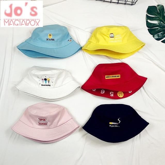 New Funny Bucket Hat Cactus Women Sun Hat Cute Kawaii Embroidery Beach  Girls Sun Hat Chic Yellow Bucket Hat Girls dfa49e949ab