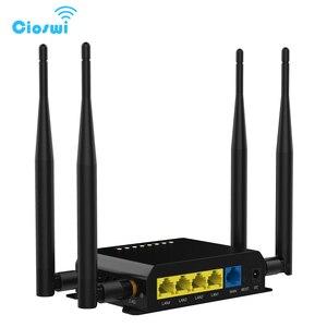 Image 1 - Router Wi Fi Cane Da Guardia Con 4 Esterno 5dBi Antenne 3G 4G LTE SIM Card Wifi openWRT Commercio Allingrosso Della Fabbrica WE826 WD