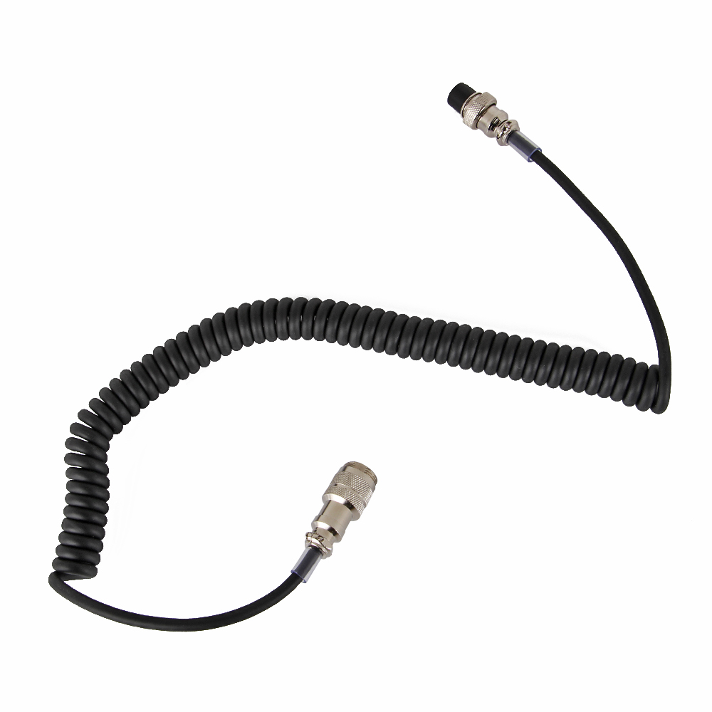New 8 PIN MICROPHONE EXTENSION CABLE FOR YAESU FOR ICOM FOR KENWOOD CB HAM Walkie Talkie Accessories