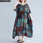 DIMANAF Plus Size Wo...