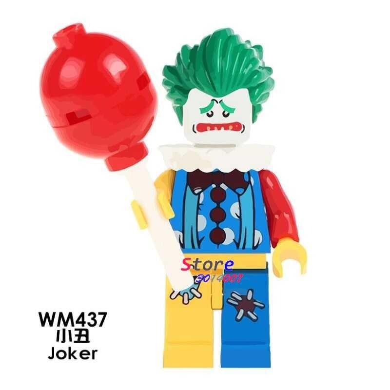 1 Buah Model Blok Bangunan Aksi Superhero Joker Anak Hobi untuk Anak Laki-laki DIY Mainan untuk Anak-anak Hadiah