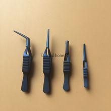 4pcs Titanium SERREFINE Straight jaw ophthalmic instrument
