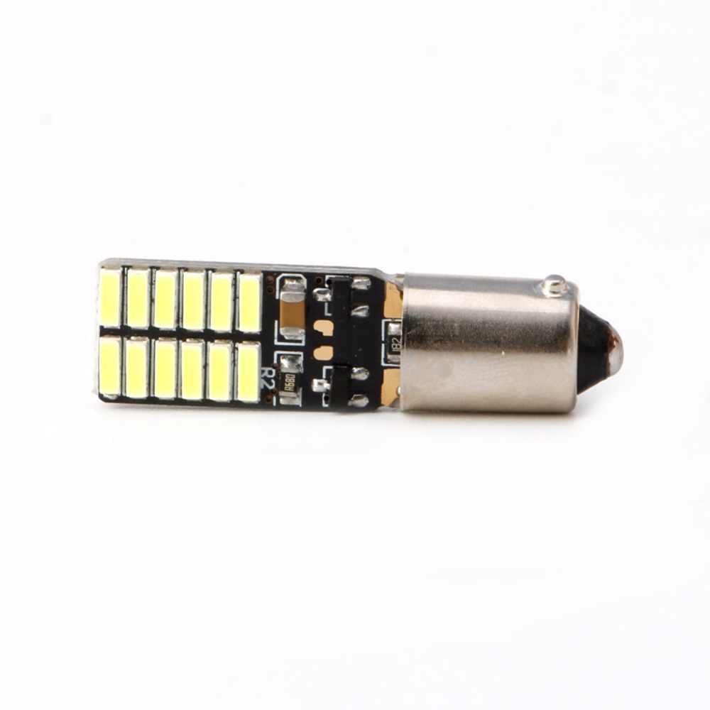 1 Pc BA9S-4014-24 Cahaya Putih DIPIMPIN Lampu Untuk VW CC C45 Backup Reverse Cahaya DC 12 V Baru