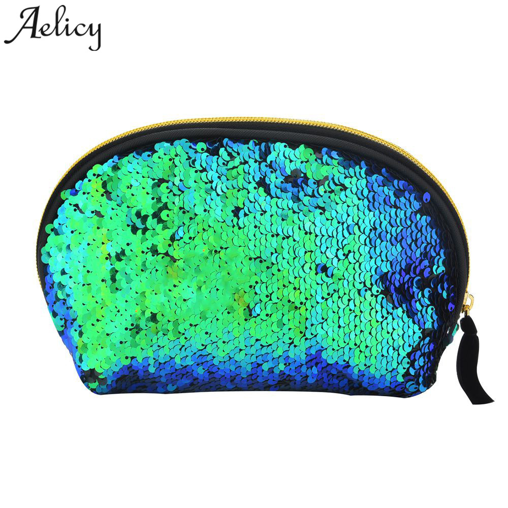 Aelicy sequines women coin purse pocket change wallet for girls organizer pouch portable cute childern zipper purse bags