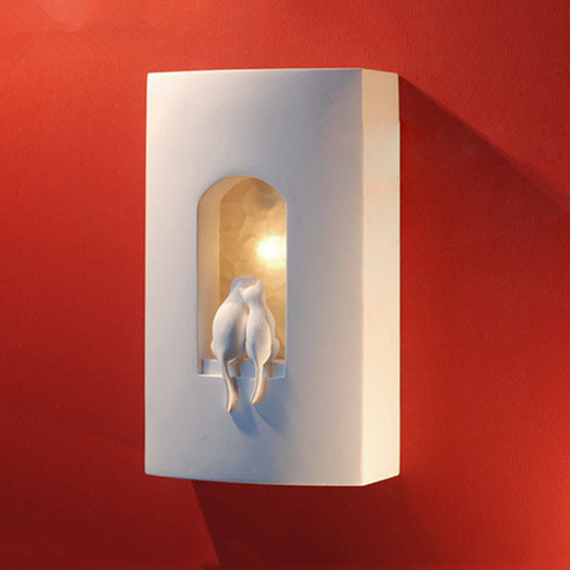 Nordic Wall Lamp Led Outdoor wall lamp LED wall lamp children bedroom gypsum aisle staircase modern wall lampNordic Wall Lamp Led Outdoor wall lamp LED wall lamp children bedroom gypsum aisle staircase modern wall lamp