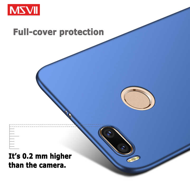 MSVII для Xiaomi mi 6 mi 5x mi A1 mi 5 mi 5S чехол Полная защита трудно матовое задней крышкой для Xiaomi mi A1 5X6 5 5S pro премьер-Чехол
