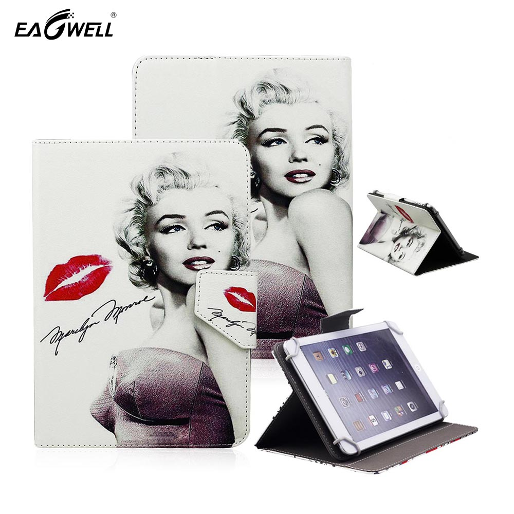 Universal PU Leather Stand Cover Case Skin For 7 inch Android Tablet PC for Teclast for Huawei Magnetic Buckle Flip Protective for trekstor surftab breeze 7 0 inch pu leather cover case for trekstor xintron i 7 inch universal android tablet kf243c