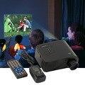 Новый Мини 1080 P HD Мультимедиа Главная СВЕТОДИОДНЫЙ Проектор Кинотеатр AV TV VGA HDMI США Plug на складе!