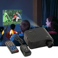 Nuevo Mini 1080 P HD Multimedia Home Proyector LED Cinema Teatro AV TV VGA HDMI Enchufe de EE.UU. En stock!