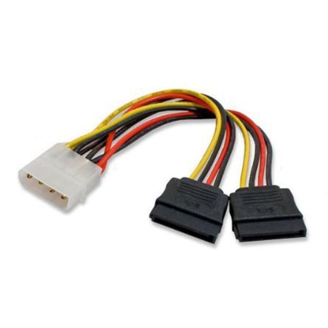 2017 Molex To Sata Power Y Splitter Adaptor Cable Lead 2