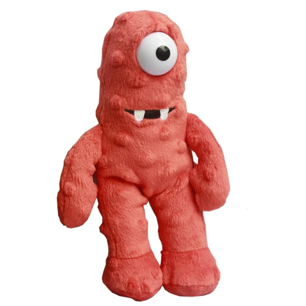 Yo Gabba Gabba Plush Toys Muno Plush Toys Mini Size 22cm One Eye Monster
