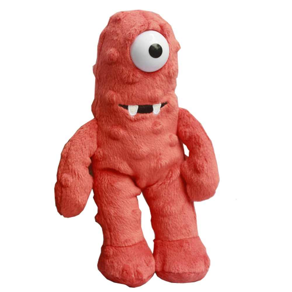 Yo Gabba Gabba Plush Toys Muno Plush Toys Mini Size 22cm One Eye Monster