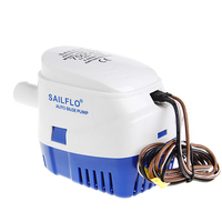 12V Boat Marine Automatic Submersible Auto Bilge Water Pump Float Switch 750GPH