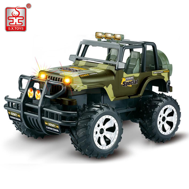 S.X.TOYS RC Car High Speed Bigfoot Remote Control Racing Cars