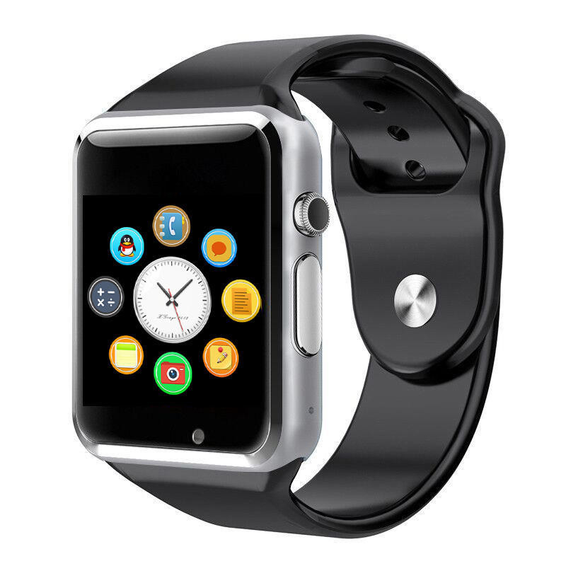 WristWatch <font><b>Bluetooth</b></font> <font><b>A1</b></font> <font><b>Smart</b></font> <font><b>Watch</b></font> <font><b>Sport</b></font> Pedometer With SIM Camera Facebook Whatsapp Smartwatch For IOS Android Smartphone image
