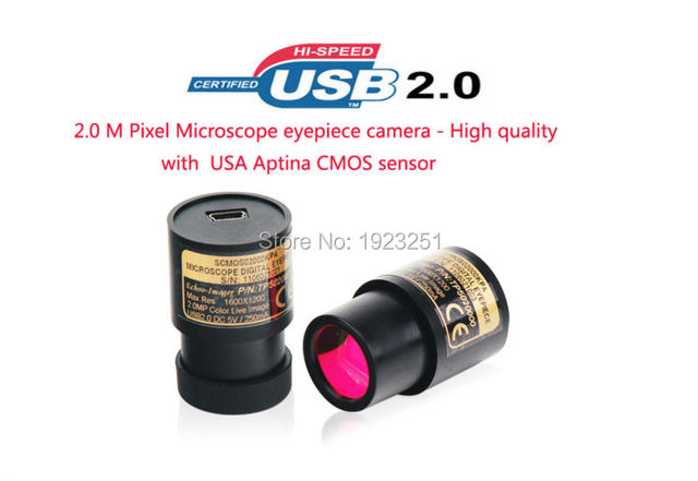 Freies verschiffen ce 2 0 mt pixel pc mikroskop digitalkamera