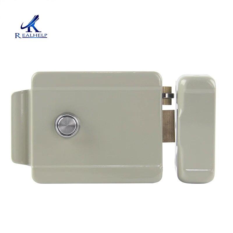 12VDC Electric door lock motor drive lock for video door phone access control system Electronic Door Lock|Electric Lock| |  - title=