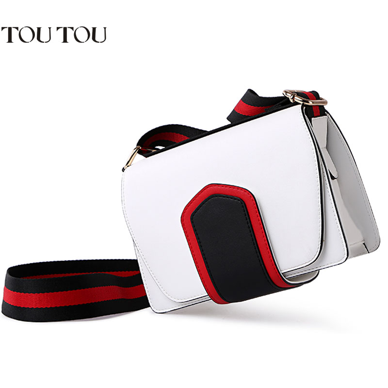 A1618 luxury handbags women bags designer for woman Simple Mini Wide Strap messenger shoulder crossbody bags for women 2018