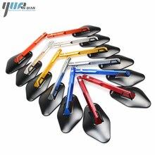 Universale Del Motociclo di CNC Specchio Specchietto Laterale Specchio Del Motociclo Per Honda NC700 NC700S NC700X NC750 NC750X/S CBR 600 F4i CB600