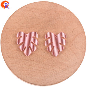 Image 5 - Cordial Design 25*28mm 100Pcs Jewelry Accessories/Earring Connectors/Leaf Shape/DIY Jewelry Making/Hand Made/Earring Findings