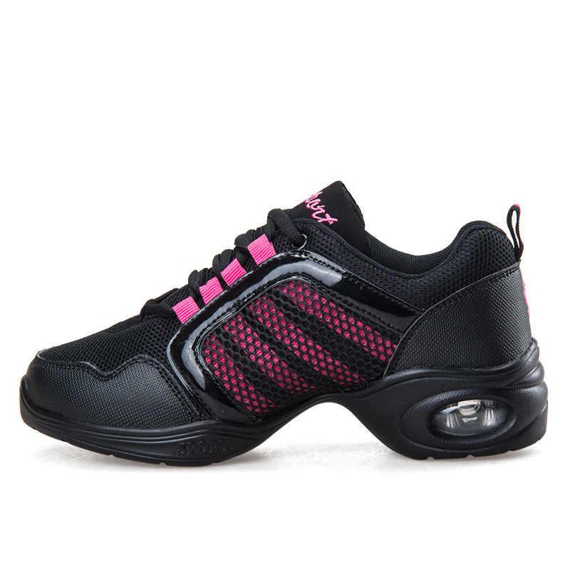 Nuevas zapatillas de baile suaves para mujer zapatillas de baile deportivas Jazz Hip Hop zapatos para mujer zapatos de baile callejero moderno para mujer zapatos