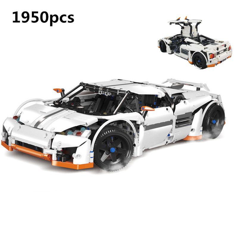 New Lepin 20052 The Predator Supercar Set MOC-2811 DIY Building Blocks Bricks Children Educational Toy Christmas Gift Technic building blocks stick diy lepin toy plastic intelligence magic sticks toy creativity educational learningtoys for children gift page 6