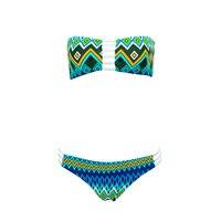 Make Difference Bandeau Strapless Bandage Bikinis 2018 Women S Padded Push Up Brazilian Bikini Swimsuits Swimwear