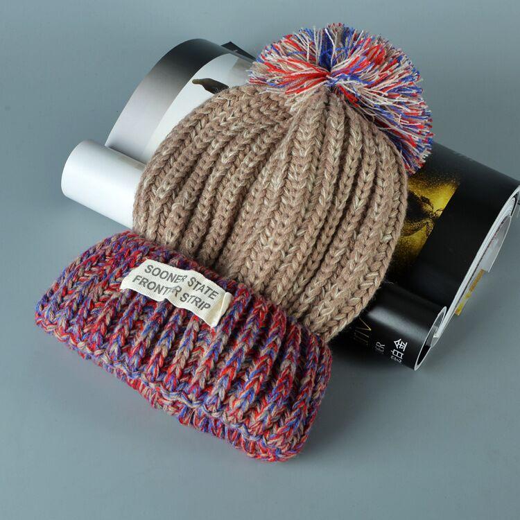 قبعة صوف دافئة نسائية 8