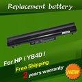 Bateria do portátil para hp pavilion sleekbook 14 14 t 15 15 t 15z 14z series 694864-851 hstnn-yb4d 695192-001hstnn-db4d
