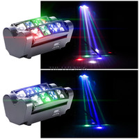 Hohe qualität led par bühne licht 24W LED RGBW 4in1 DMX 512 13CH mini par led beleuchtung für Club dj show Home party Ballsaal Bands|Bühnen-Lichteffekt|Licht & Beleuchtung -