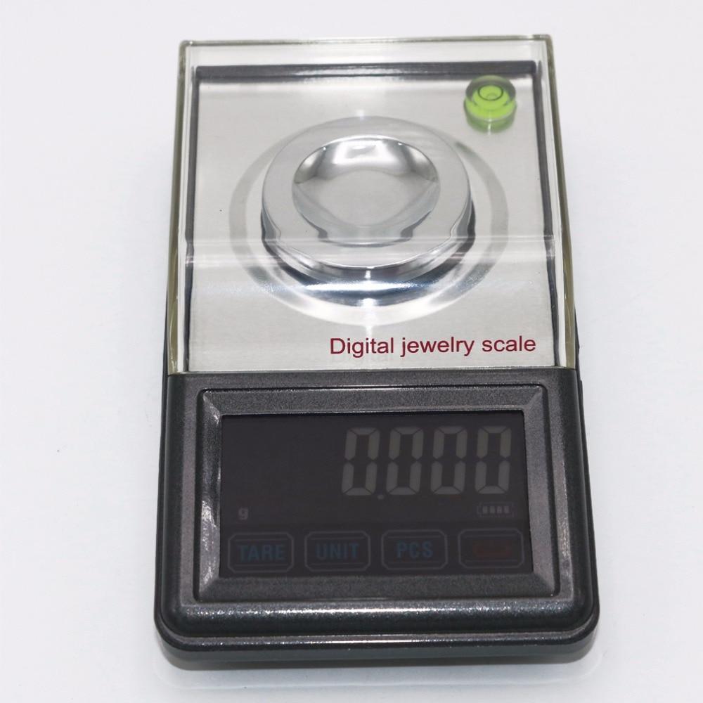 0.001g ~ 50g écran tactile haute définition bijoux échelle qualité poche électronique numérique balance + boîte de détail - 4