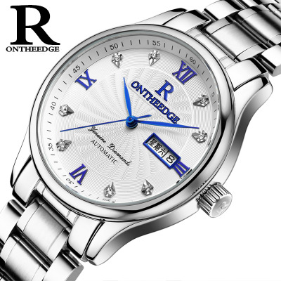 Top Brand Mens Watches Erkek Kol Saati waterproof calendar Quartz watch stainless steel Casual Men Wrist Watch reloj hombre new arrival function steam automatic hair curler curling iron high quality and best price for salon barber shop