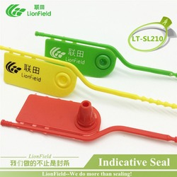 30pcs break away seal strip seal plastic indicative seal airline cargo cable tie seal for bank.jpg 250x250
