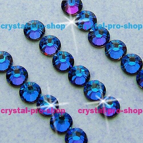 ss34 GENUINE Swarovski Elements Crystal Meridian Blue (MBL) 36 pcs 34ss (  No-hotfix rhinestones) 93240a875a