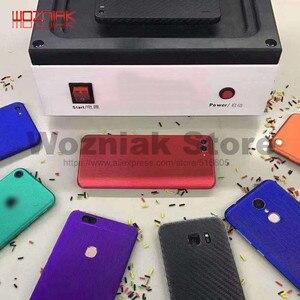 Мобильный телефон/планшетный компьютер вакуумное покрытие машина всего тела покрытие машина 3D цветная пленка для iphone samsung